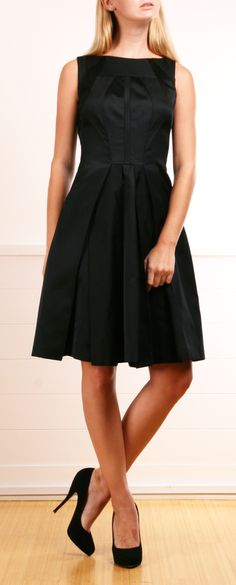 Black Prada dress
