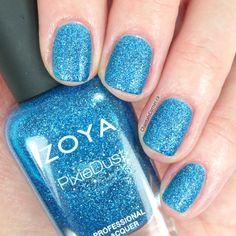 Zoya PixieDust nail polish in Liberty is so pretty!