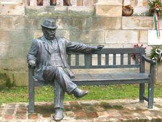 Mikszáth Kálmán Mohora Hungary, Budapest, Garden Sculpture, Around The Worlds, Bronze, Street, Gallery, Creative, Outdoor Decor
