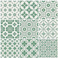 Laccio Green new decorative & glazed tiles  Mandarin Stone