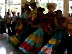 Traditional Honduran dance