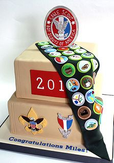 Eagle Scout Cake | Flickr - Photo Sharing!