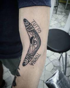 """""""TUTTO TORNA"""" #ZeroSei #Tatto #Roma #Tatuaggi #Gabriele"""