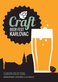 It has a 160 year-old brewing tradition which is older than Manchester United, but now the city of Karlovac is celebrating the Croatian craft beer rev. Beer Festival Outfit, Craft Beer Festival, Wine And Food Festival, Beer Tasting Parties, British Beer, Beer Poster, Festival Posters, Full Sail, Croatia