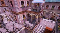 A street running in unreal engine Created by Adam Hepner Walking Street, Unreal Engine, Mansions, House Styles, Building, Artwork, Projects, Mansion Houses, Work Of Art