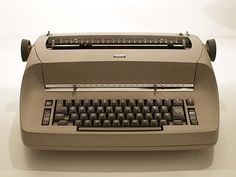 This is the EXACT model that I used in typing class.... The quick brown fox jumped over the lazy dog....