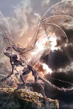 Dragons have always been a part of human fantasy and they continue to one of the most commonly used creatures in most of the fantasy movies and games. Mythological Creatures, Fantasy Creatures, Mythical Creatures, Fairytale Creatures, Fantasy Dragon, Fantasy Art, Dragon Occidental, Legendary Dragons, Dragon Illustration