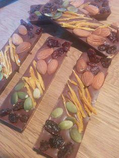 Barres de chocolat, mandiant classique