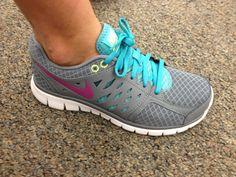 These tennis shoes Nikes #shoes #nike shoes nike pastel mint light green purple orange hot pink #nikes