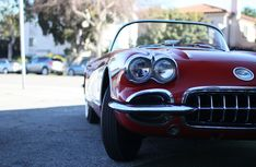 Amazing american car outside Garage 77 in Los Angeles Corvette, The Outsiders, Garage, Cars, American, Amazing, Carport Garage, Corvettes, Autos