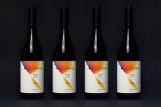 Package design for Black Estate's wine range Circuit designed by graphic design studio Toko
