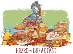 HOARD OF BREAKFAST PRINT