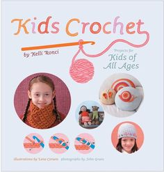 learn how to crochet and also about crochet traditions around the world; where to go for help and materials; ideas about crocheting for charity; and, most importantly, how to be creative and imaginative with these new skills.