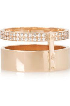 Repossi Berbère 18-karat rose gold ring | NET-A-PORTER