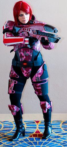 Mass Effect N7 Cosplay DragonCon by Swoz