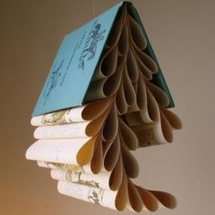 decorations? i do love books and have a lot of vintage ones that are already missing pages...
