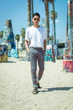 Printed Pants That Are Perfect For Summer by @closet_freaks on @Rebecca Leckman Alexander http://shar.es/P3U1D
