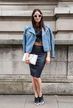 Неделя моды в Лондоне S/S 2015: street style. Часть I