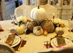 fall tablescapes decor inspiration, seasonal holiday decor