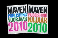 Maven Publishing Fall 2010 Catalogue - Matthijs 'Matt' van Leeuwen