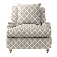 Fabric pattern and color for re-upholstery of arm chairs