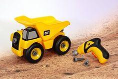 Toy State Caterpillar Construction Take-A-Part Trucks: Dump Truck, http://www.amazon.com/dp/B005QZP20C/ref=cm_sw_r_pi_awdm_rTyKub0WE09N1