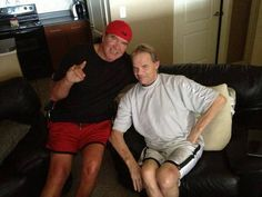 Scott Hall & Lex Luger ~ Each fighting & hopefully conquering their personal struggles