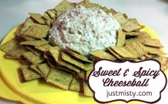 Spicy and Sweet Pineapple cheese ball