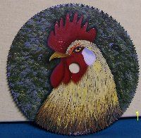 Painting On Saw Blade | blade painting