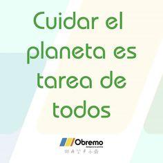 Cuidar el planeta es tarea de todos. Apuesta por las energias renovables. #diamundialdelmedioambiente #worldenvironmentday #DMMA2016 Environment, Marketing, Instagram Posts, Renewable Energy, Planets, Motivational Quotes