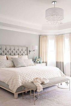 idee per arredare la camera da letto con il color lavanda - camera ... - Camera Da Letto Grigio
