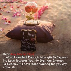 A new and romantic way to wish Propose Day to the loved one. Get Happy Propose Day images with name of your love. Make feel them extra special. Happy Propose Day Image, Propose Day Images, Get Happy, Enough Is Enough, Proposal, You And I, Thats Not My, Names, Romantic