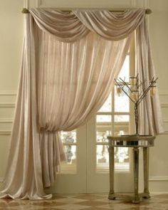 images about pretty curtain scarf ideas on pinterest swag curtains