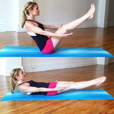 Boat or Low Boat Pose - 6 Yoga Poses for a Rock-Solid Core - Shape Magazine - Page 3