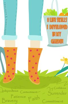 Do you know what it takes to grow a successful garden? Well Daisy Rain Martin sure does. She shares her humorous take on gardening and the wisdom it brings.