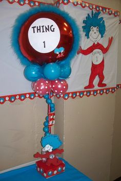 Thing 1 And Thing 2 Baby Shower Party Ideas
