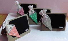 Tischkarten 4 Stk. Schulanfang von INEZZA  -  Geschenkestübchen auf DaWanda.com