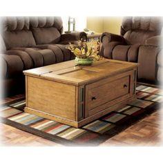 Ashley Furniture Signature Design Kinley Rectangular Cocktail Table At Big  Sandy Superstore