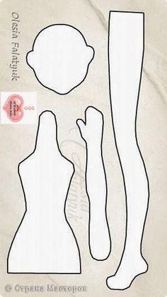 Risultati immagini per bonecas tilda bailarina Fabric Doll Pattern, Doll Sewing Patterns, Sewing Dolls, Doll Clothes Patterns, Tiny Dolls, Soft Dolls, Cute Dolls, Fabric Toys, Doll Tutorial