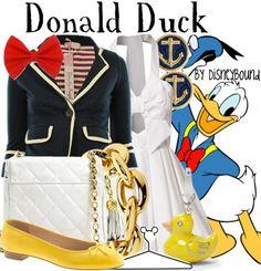 Girly Donald Duck Costume