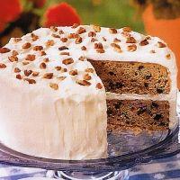 Layered Spice Cake - Diabetic Recipe