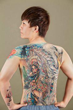 Queen Tattoo 8