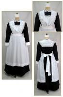 Edwardian Bib Maid Apron, Style #0451