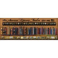 American Literary Timeline 1750 - 1849 Poster
