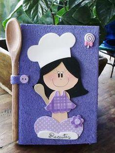 molde de menina cozinheira em eva - Pesquisa Google