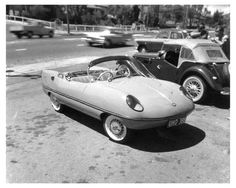 1960-Goggomobil-Dart-Buckley-Photo-Micro Bmw, Cars, Vehicles, Autos, Rolling Stock, Automobile, Car, Vehicle