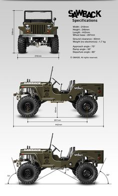 I intend to have an electric powered jeep engine. Jeep Willys, Cj Jeep, Jeep Truck, Auto Jeep, Military Jeep, Military Vehicles, Pedal Cars, Rc Cars, Bmw 327