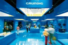 blue box | grundig by Dart Design Gruppe , via Behance