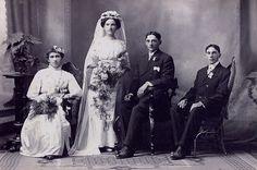 Early 1900's wedding