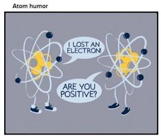 I lost an electron